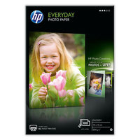 HP EVERYDAY GLOSSY PHOTO PAPER-100SHT 10X15CM