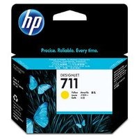 HP 711 YELLOW INK CARTRIDGE 29-ML FOR DESIGNJET T120, T520