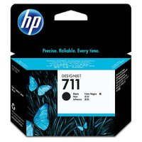 HP 711 BLACK INK CARTRIDGE 80-ML FOR DESIGNJET T120, T520