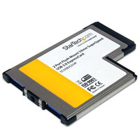 Flush Mount ExpressCard 54mm USB 3 Card
