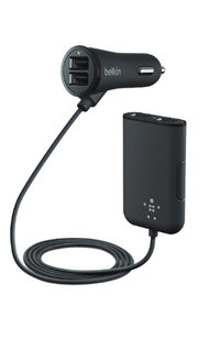 Car Charger W Exyension Hub 4 port 7.2am