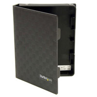 3x2.5 Anti-Static HDD Protector Case Bk