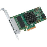 INTEL QUAD PORT, 1GbE, ETHERNET ADAPTER, I350T4V2, RJ45, LP/FULL BRACKET, BULK