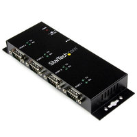 4 Port USB to DB9 RS232 Serial Adapter