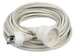 EXTENSION LEAD 240V GENERAL DUTY - 10M