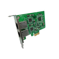 QNAP LAN-1G2T-I210, DUAL PORT GbE(1) NE2RK CARD, LOW PROFILE BRACKET