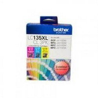 Brother LC135XL CMY Colour Pk