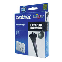 BROTHER LC37 BLACK INK 350 PAGE YIELD FOR 135C, 150C, 235C & 260C