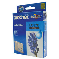 BROTHER LC37 CYAN INK 300 PAGE YIELD FOR 135C, 150C, 235C & 260C