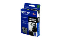 BROTHER LC38 BLACK INK 300 PAGE YIELD FOR 165, 195, 375, 295 & 257
