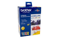 BROTHER LC38 CYM TRIPLE INK 3X 260 PAGE YIELD FOR 165, 195, 375, 295 & 260