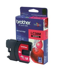 BROTHER LC38 MAGENTA INK 260 PAGE YIELD FOR 165, 195, 375, 295 & 261