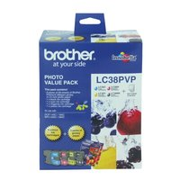 Brother LC38 Photo Value Pack