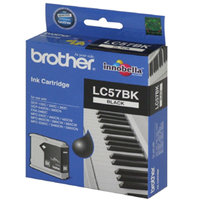 BROTHER LC57 BLACK INK 500 PAGE YIELD FOR 2480, 560, 5460 & 5860