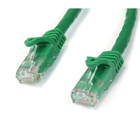 1m Green Snagless UTP Cat6 Patch Cable