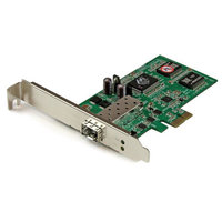 PCIe GbE Fiber Network Card w/ Open SFP