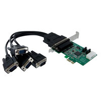 4 Port PCIe RS232 Serial Adapter Card