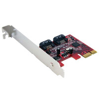 2 Port PCIe SATA 6 Gbps Controller Card