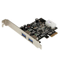 2 Port PCIe USB 3.0 Card with UASP