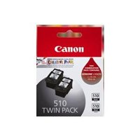 Canon PG510 Blk Ink Twin Pack