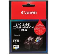 PG640CL641CP, 1X PG-640 BLACK, 1X CL-641 COLOUR INK CARTRIDGE COMBO PACK