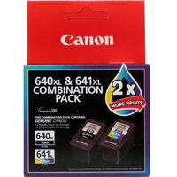 PG640XLCL641XL, 1X PG-640XL BLACK, 1 X CL-641XL COLOUR INK CARTRIDGE COMBO PACK