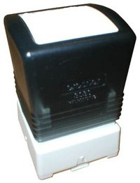 30 X 30MM BLACK STAMP PRICE IS PER STAMP WITH MOQ OF 6PCS
