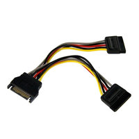 6in SATA Power Y Splitter Cable Adapter
