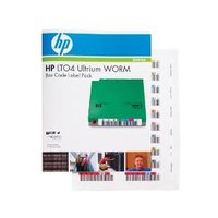 HP LTO4 ULTRIUM WORM BAR CODE LABEL PACK
