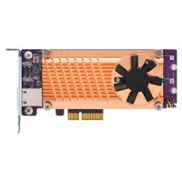 QNAP QM2 CARD, DUAL M.2 PCIe SSD, 10GBASE-T(1) EXPANSION CARD,LOW PROFILE BRACKET