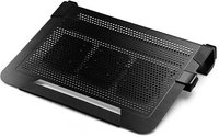 U3 PLUS BLACK ALUMINUM NOTEBOOK COOLER