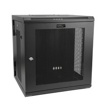 12U Wall Mount Rack Cabinet with Hinge