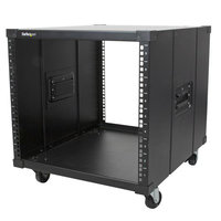 Portable Server Rack with Handles - 9U
