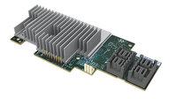 INTEL RAID MODULE, 16x SAS/SATA 12 VIA 4x HD MINI SAS, NO RAID, JBOD/TARGET MODE ONLY