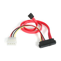 18in SAS 29 Pin to SATA Cable