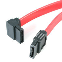 18in SATA to Left Angle SATA Cable