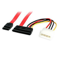 18in SATA Data and Power Combo Cable