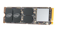 INTEL DC SSD, P4101 SERIES, 512GB, 80mm M.2 NVMe PCIe 3.0 x4, 2250R/550W MB/s,  5YR WTY