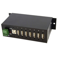 Mountable Industrial 7 Port USB Hub