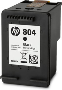 HP 804 BLACK ORIGINAL INK CARTRIDGE