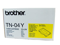 BROTHER TN04 YELLOW TONER 6,600 PAGE YIELD FOR HL-2700CN & MFC-9420CN