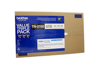 Brother TN2150 Toner 3 Pack