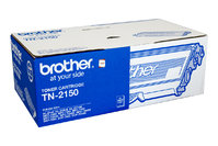 BROTHER TN2150 BLACK TONER 2,600 PAGE YIELD FOR HL-2140 & HL-2170W