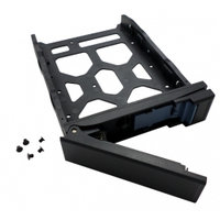 "QNAP TRAY-35-NK-BLK03 HDD TRAY 3.5""/2.5"" DRIVES WO KEYLOCK,6X SCREW FOR 2.5"" HDD, TOOLESS"