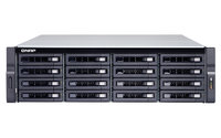 QNAP TS-1677XU-RP-2700-16G, 16-BAY RACKMOUNT NAS, AMD RX-421ND QC 2.1GHZ, 8GB RAM, 500W X2