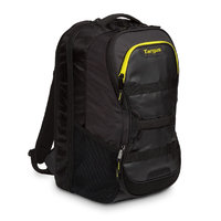 15.6in FITNESS BACKPACK BLACK/YELLOW
