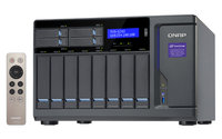 QNAP  TVS-1282-i7-32G, 12-Bay TurboNAS, SATA 6G, Core™ i7-6700 3.4 GHz, 32GB RAM, 4-LAN, 10G-ready, iSCSI, 250W single power supply, 2y AR wty