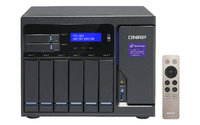 QNAP TVS-882-i5-16G ,8-Bay TurboNAS, SATA 6G, Core™ i5-6500 3.6 GHz, 16GB RAM, 4-LAN, 10G-ready, iSCSI, 250W single power supply, 2y AR wty