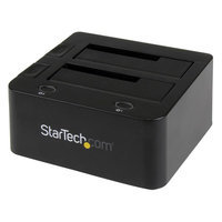 Universal dock station for hard drives