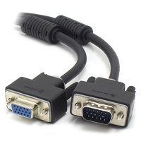ALOGIC 2m VGA/SVGA Premium Shielded Monitor Extension Cable With Filter  Male to Female